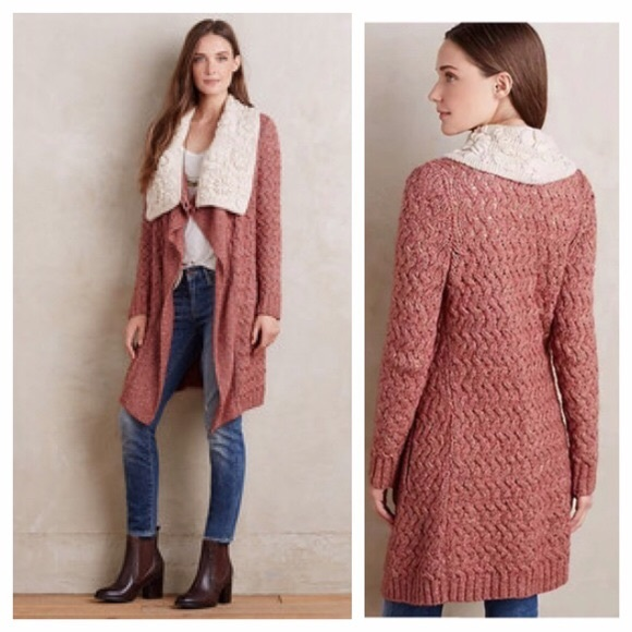 Anthropologie Sweaters - Anthropologie Knitted and Knotted shawl cardigan